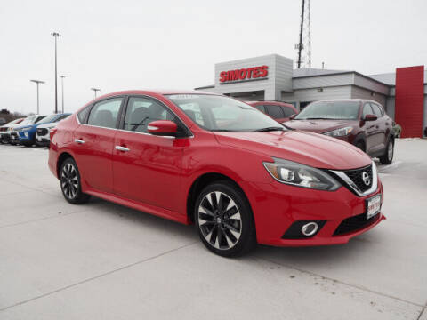 2019 Nissan Sentra for sale at SIMOTES MOTORS in Minooka IL