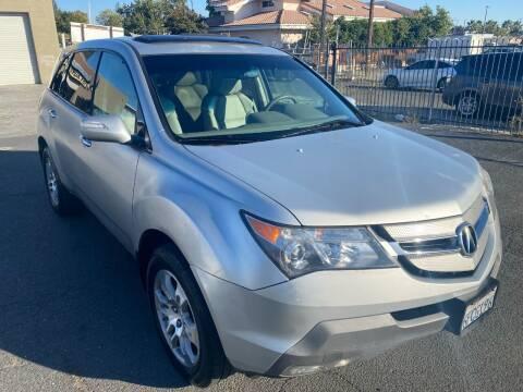 2009 Acura MDX for sale at 101 Auto Sales in Sacramento CA