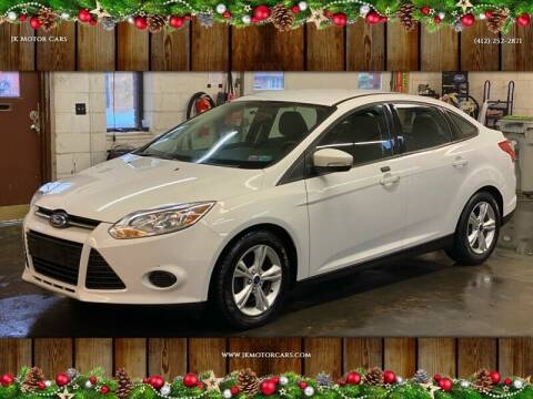 2014 Ford Focus for sale at JK Motor Cars in Pittsburgh PA