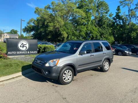 2006 Honda CR-V for sale at Station 45 Auto Sales Inc in Allendale MI