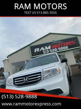 2014 Honda Pilot for sale at RAM MOTORS in Cincinnati OH