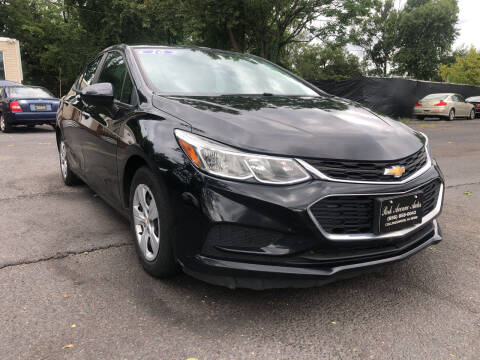 2016 Chevrolet Cruze for sale at PARK AVENUE AUTOS in Collingswood NJ