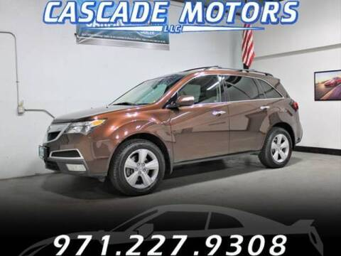 2010 Acura MDX for sale at Cascade Motors in Portland OR
