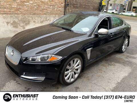 2013 Jaguar XF for sale at Enthusiast Autohaus in Sheridan IN