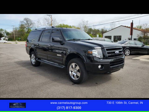2007 Ford Expedition EL for sale at Carmel Auto Group in Indianapolis IN