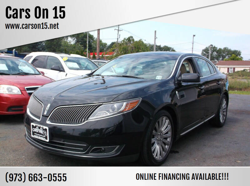 2014 Lincoln MKS for sale at Cars On 15 in Lake Hopatcong NJ