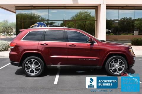 2018 Jeep Grand Cherokee for sale at GOLDIES MOTORS in Phoenix AZ