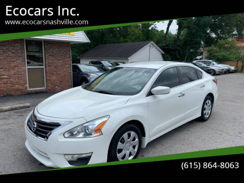 2015 Nissan Altima for sale at Ecocars Inc. in Nashville TN