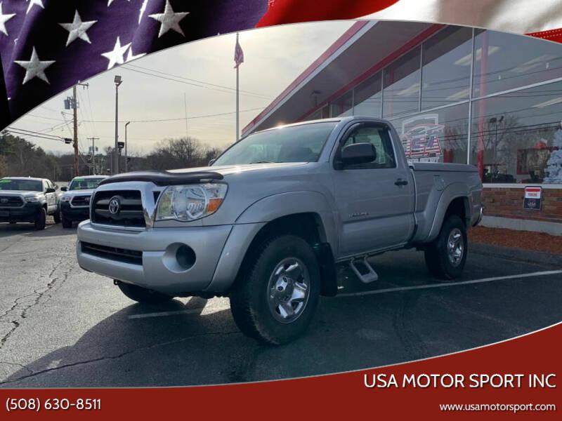 2007 Toyota Tacoma for sale at USA Motor Sport inc in Marlborough MA