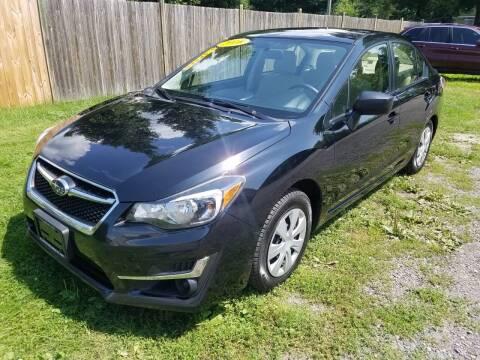 2016 Subaru Impreza for sale at ALL Motor Cars LTD in Tillson NY