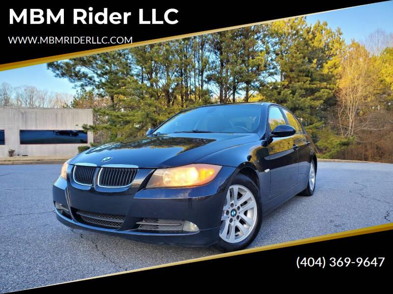 2007 BMW 3 Series for sale at MBM Rider LLC in Alpharetta GA