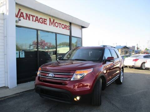 2015 Ford Explorer for sale at Vantage Motors LLC in Raytown MO