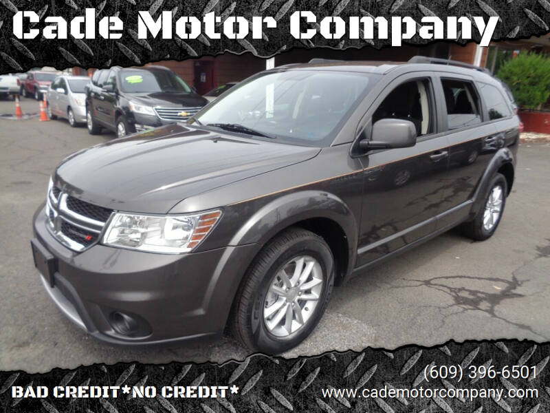 2016 Dodge Journey for sale at Cade Motor Company in Lawrence Township NJ