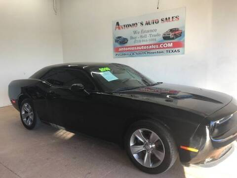 2016 Dodge Challenger for sale at Antonio's Auto Sales in South Houston TX
