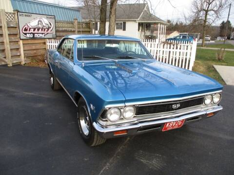 1966 Chevrolet Chevelle for sale at Classics and More LLC in Roseville OH