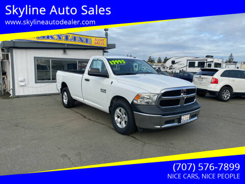 2017 RAM Ram Pickup 1500 for sale at Skyline Auto Sales in Santa Rosa CA