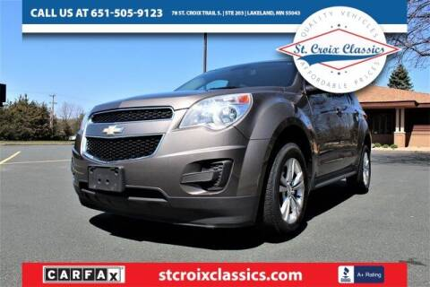 2012 Chevrolet Equinox for sale at St. Croix Classics in Lakeland MN