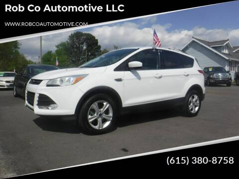 2016 Ford Escape for sale at Rob Co Automotive LLC in Springfield TN
