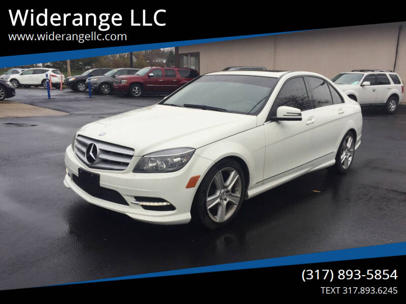 2011 Mercedes-Benz C-Class for sale at Widerange LLC in Greenwood IN