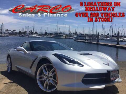2019 Chevrolet Corvette for sale at CARCO SALES & FINANCE in Chula Vista CA