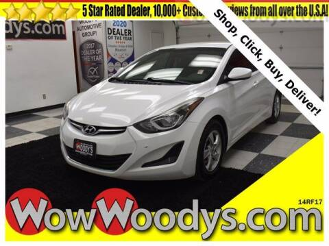 2014 Hyundai Elantra for sale at WOODY'S AUTOMOTIVE GROUP in Chillicothe MO