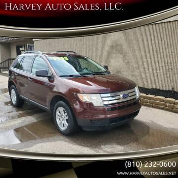 2009 Ford Edge for sale at Harvey Auto Sales, LLC. in Flint MI