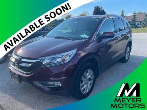 2015 Honda CR-V for sale at Meyer Motors in Plymouth WI