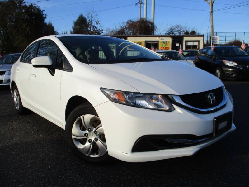 2015 Honda Civic for sale at Unlimited Auto Sales Inc. in Mount Sinai NY