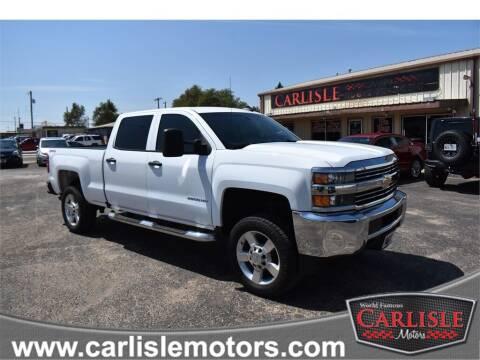 2017 Chevrolet Silverado 2500HD for sale at Carlisle Motors in Lubbock TX