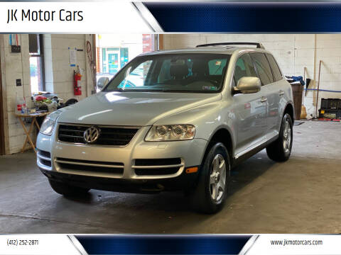2005 Volkswagen Touareg for sale at JK Motor Cars in Pittsburgh PA