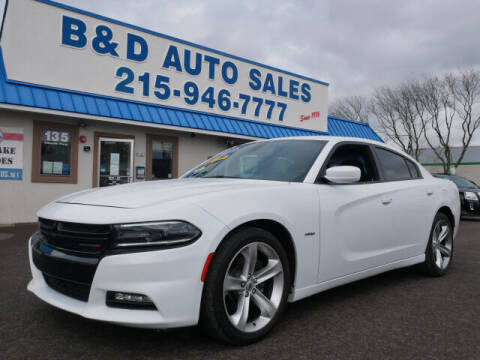 2017 Dodge Charger for sale at B & D Auto Sales Inc. in Fairless Hills PA