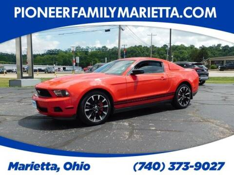 2012 Ford Mustang for sale at Pioneer Family preowned autos in Williamstown WV