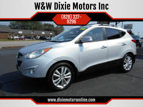 2012 Hyundai Tucson for sale at W&W Dixie Motors Inc in Hickory NC