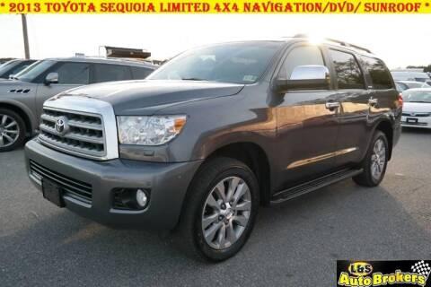 2013 Toyota Sequoia for sale at L & S AUTO BROKERS in Fredericksburg VA