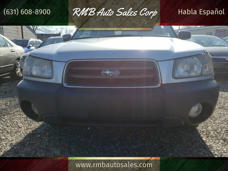 2005 Subaru Forester for sale at RMB Auto Sales Corp in Copiague NY