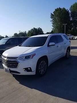 2018 Chevrolet Traverse for sale at Washington Auto Credit in Puyallup WA