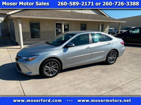 2017 Toyota Camry for sale at Moser Motors Of Portland in Portland IN
