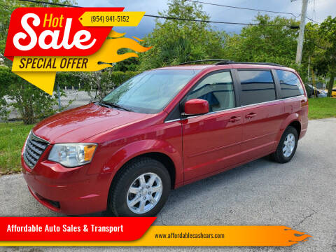2008 Chrysler Town and Country for sale at Affordable Auto Sales & Transport in Pompano Beach FL