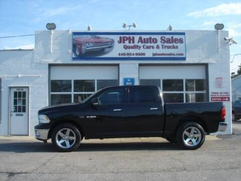 2010 Dodge Ram Pickup 1500 for sale at JPH Auto Sales in Eastlake OH