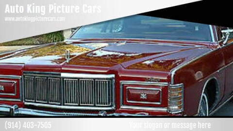 1978 Mercury Grand Marquis for sale at Auto King Picture Cars - Rental in Westchester County NY