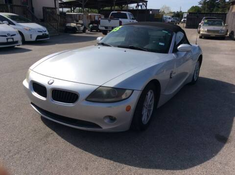 2005 BMW Z4 for sale at OASIS PARK & SELL in Spring TX