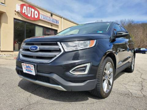 2015 Ford Edge for sale at Auto Wholesalers Of Hooksett in Hooksett NH