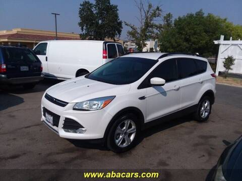 2014 Ford Escape for sale at About New Auto Sales in Lincoln CA