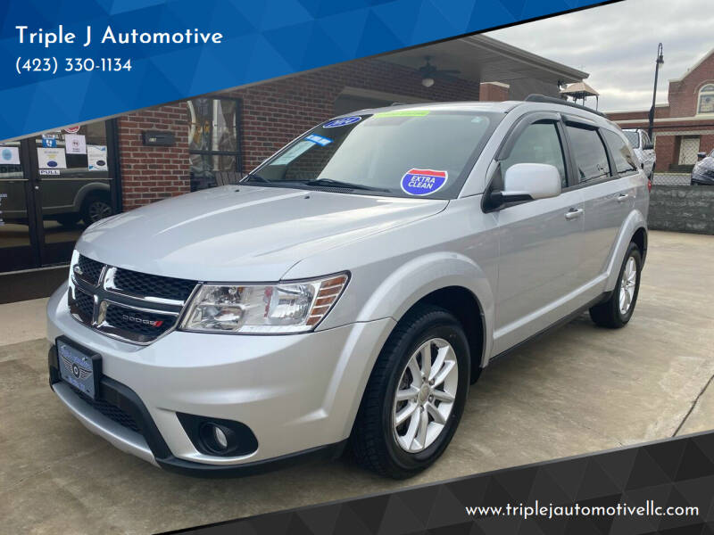 2014 Dodge Journey for sale at Triple J Automotive in Erwin TN