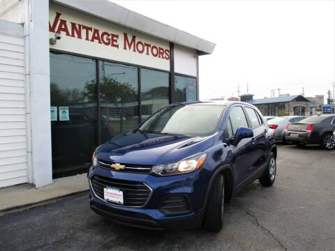 2017 Chevrolet Trax for sale at Vantage Motors LLC in Raytown MO