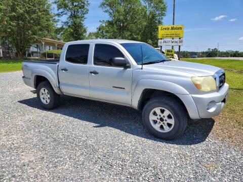 2006 Toyota Tacoma for sale at Lewis Motors LLC in Deridder LA