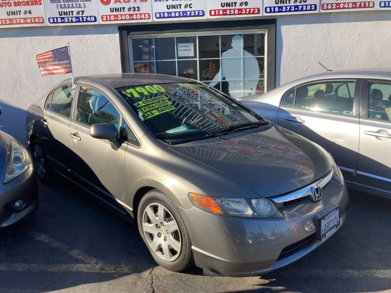2008 Honda Civic for sale at Trade In Auto Sales in Van Nuys CA