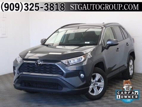 2019 Toyota RAV4 for sale at STG Auto Group in Montclair CA
