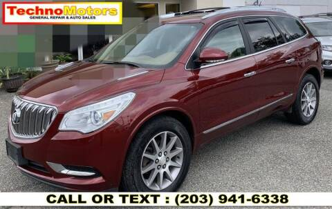 2015 Buick Enclave for sale at Techno Motors in Danbury CT