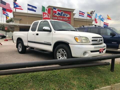 2003 Toyota Tundra for sale at FREDY CARS FOR LESS in Houston TX